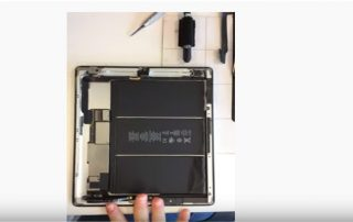 how to replace an ipad 4 battery