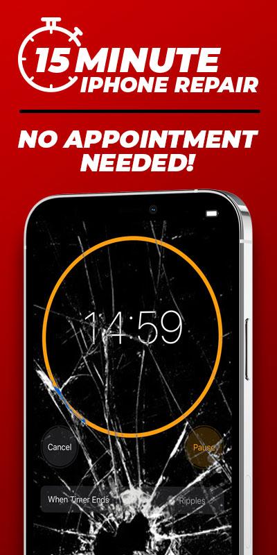 iPhone Repair in 15 Minutes